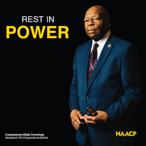 Rest in power, Elijah Cummings.