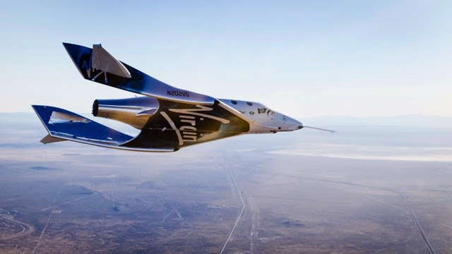 Virgin Galactic tests its new spacecraft<br />