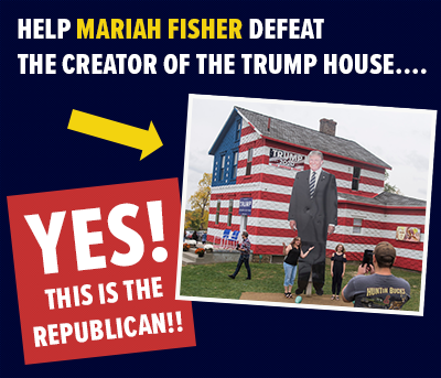 Defeat the creator of the Trump House...
