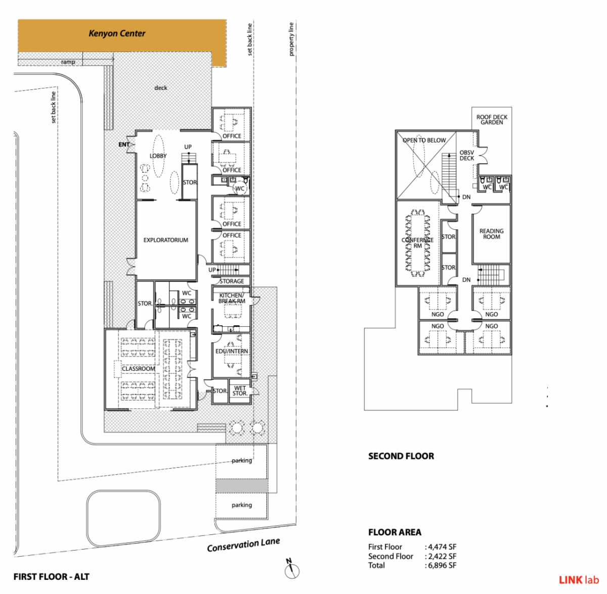 Draft Learning Centre plans
