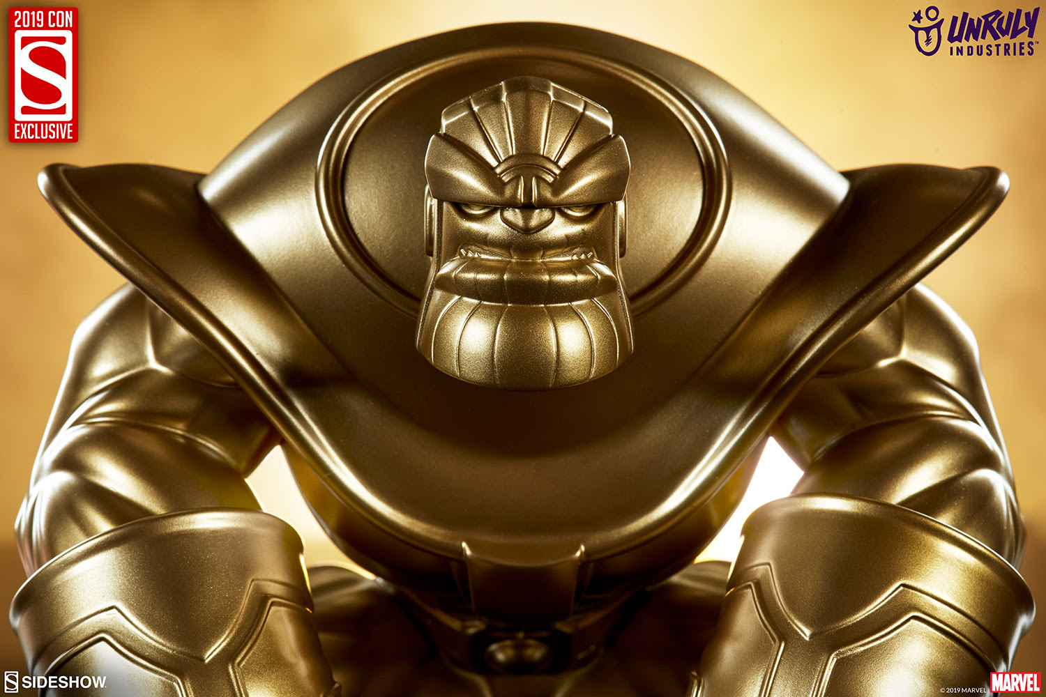 SDCC Exclusive Thanos 'The Mad Titan - Gold Version'