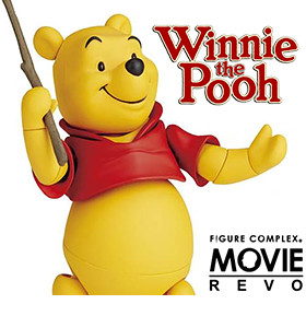 WINNIE THE POOH FIGURE COMPLEX MOVIE REVO NO.0011