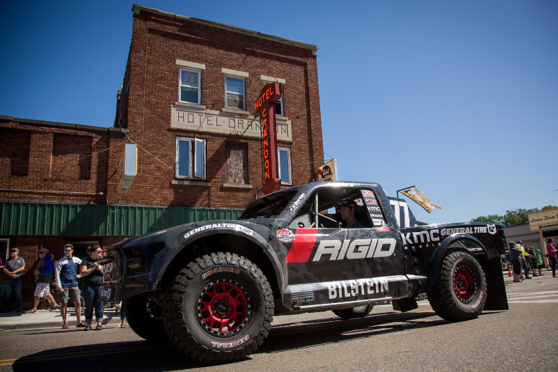 Jerett Brooks, Crandon Hotel, Rigid Industries, Bilstein, KMC Wheels, General Tire, Bink Designs