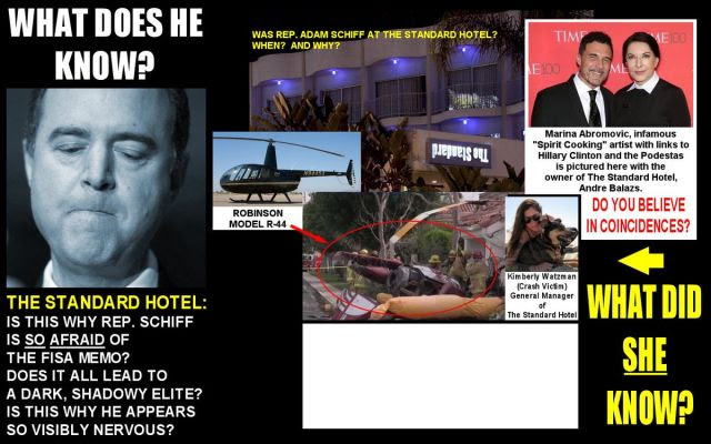 Adam Schiff in Acts of Pedophilia at The Standard Hotel!  Steve Pieczenik