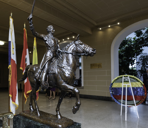 Consejo Permanente de la OEA rinde homenaje al Libertador Simón Bolívar