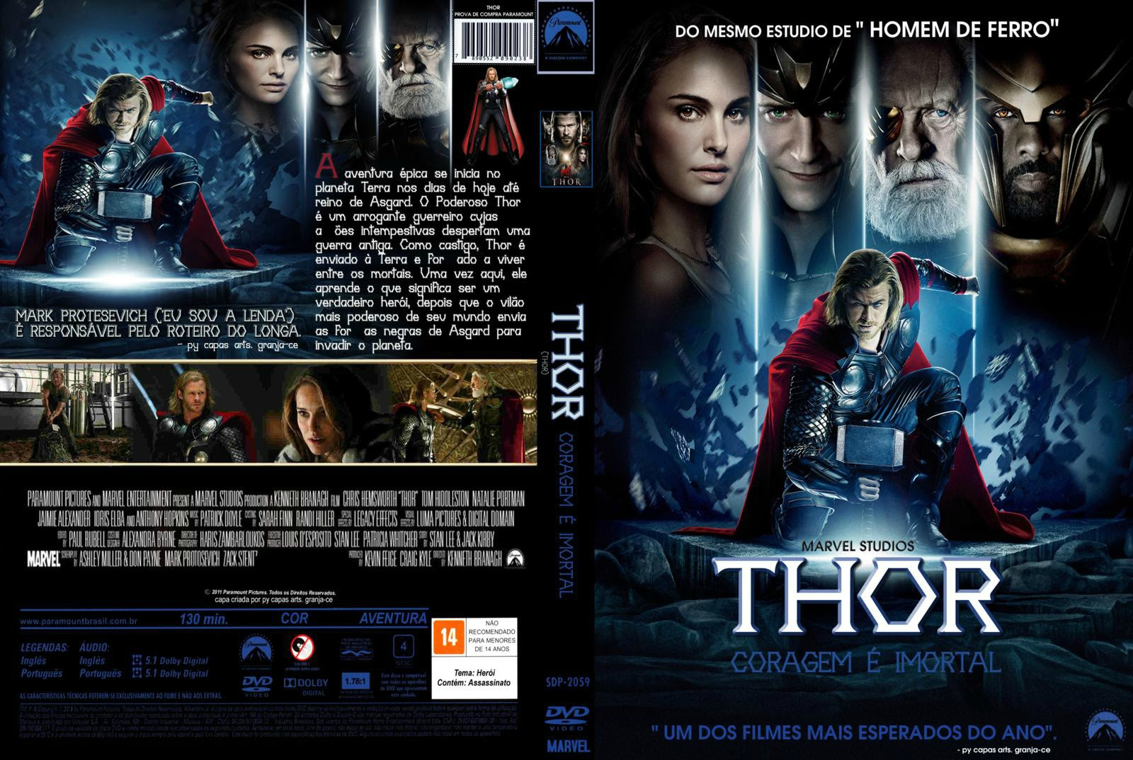 dfCIdlc Thor Torrent   BDRip Dual Áudio (2011)