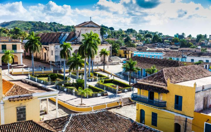 Sun yourself in Trinidad, Cuba