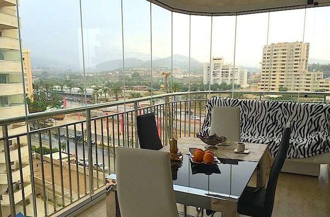 Balcon Con Cerramiento Vidriado