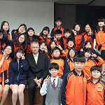 Geoff Wood visits Korean Schools