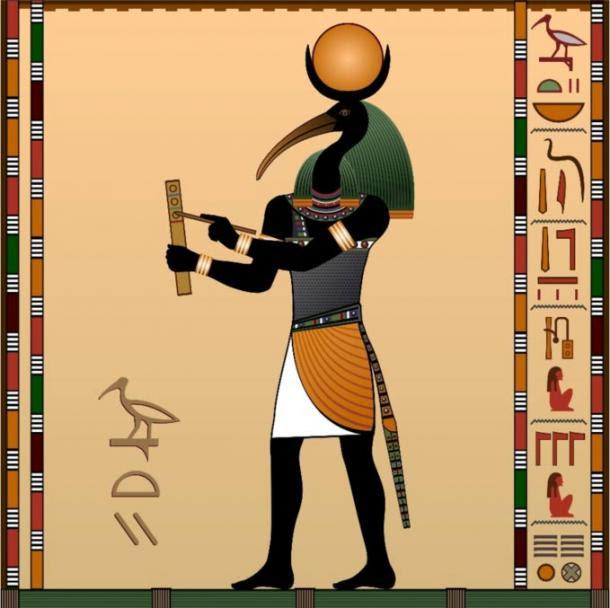 Thoth the ancient Egyptian god of wisdom - Dios egipcio toth y su escuela de misterio