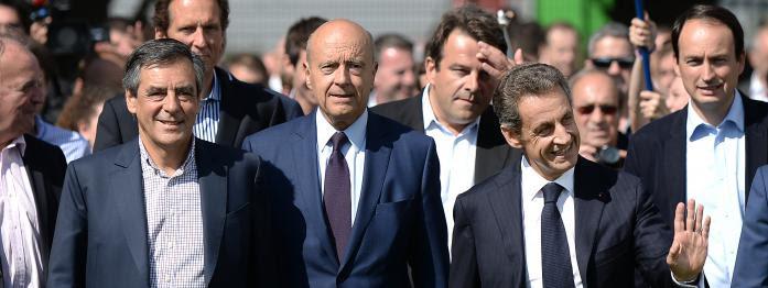 Sarkozy refuse de s'afficher avec Fillon, Le Pen chahutée par des Femen, Macron s'entoure de célébrités...