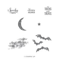 Spooky Sweets Clear-Mount Stamp Set