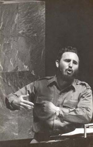 Fidel en la ONU, 1960