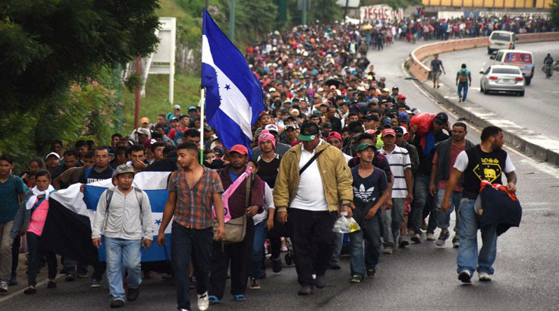 hondureños que soliciten refugio