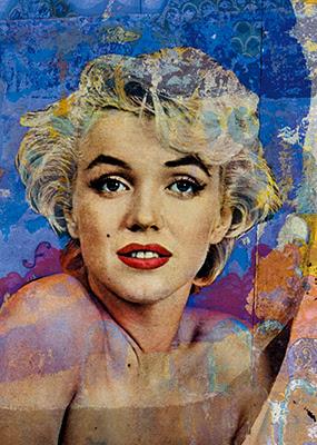 Marilyn - Opera di Giuliano Grittini in vendita presso la Galleria Deodato Arte