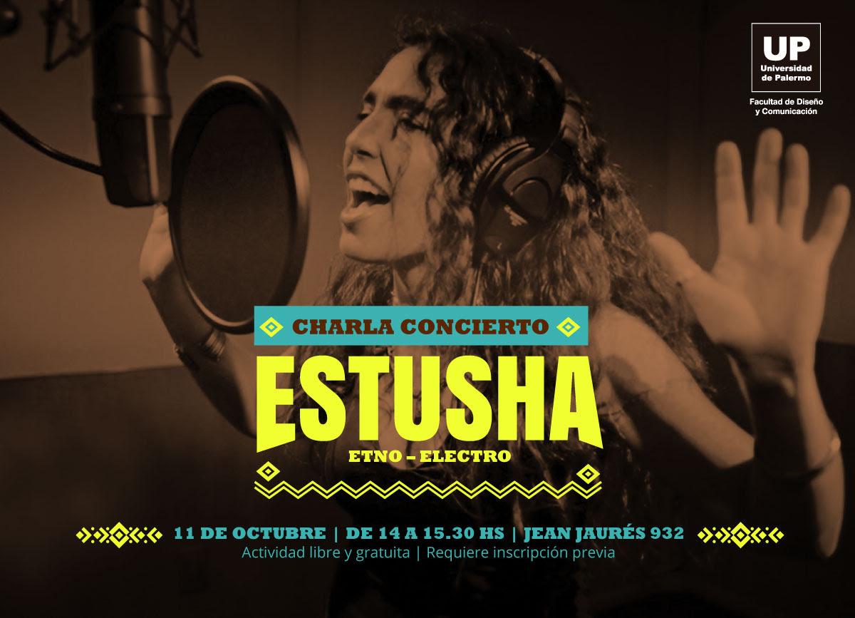 ESTUSHA Etno/Electro. Charla concierto