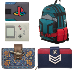 NEW WALLETS AND BACKPACKS