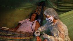 Indígena de la Amazonía presenta síntomas de Covid-19.