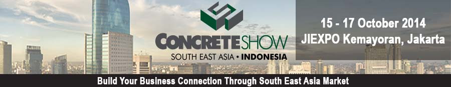 CONCRETE SHOW SOUTH EAST ASIA 2014