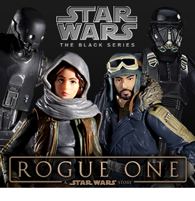"ROGUE ONE: A STAR WARS STORY 6"" BLACK SERIES AND MORE"