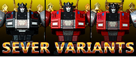 IRON DIBOTS FT-06 SEVER VARIANTS