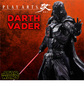 STAR WARS PLAY ARTS KAI VARIANT FIGURE - DARTH VADER