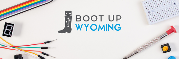 Boot Up Wyoming banner