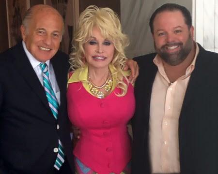 Doug Morris, Dolly Parton, Danny Nozell