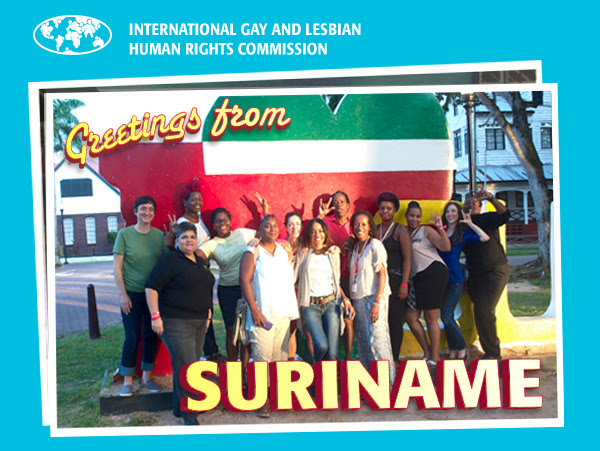 Greetings from Suriname