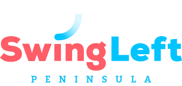 Swing Left Peninsula Logo