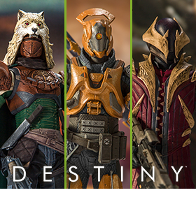 DESTINY COLOR TOPS EDITION FIGURES
