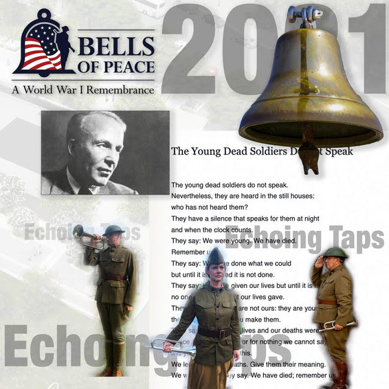 Bells of Peace 2021 at National WWI Memorial graphic