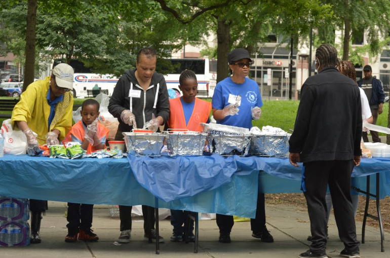 Feeding the Homeless photo
