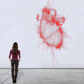 « Heart », 2009, Generative noise study © Pascal Haudressy