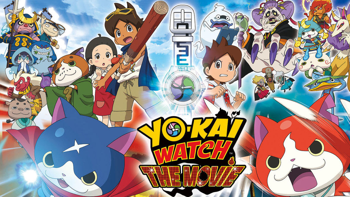 Yo-Kai Watch Movie - Now on Netflix