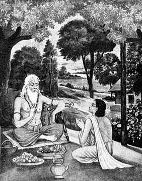 Vasistha and Rama