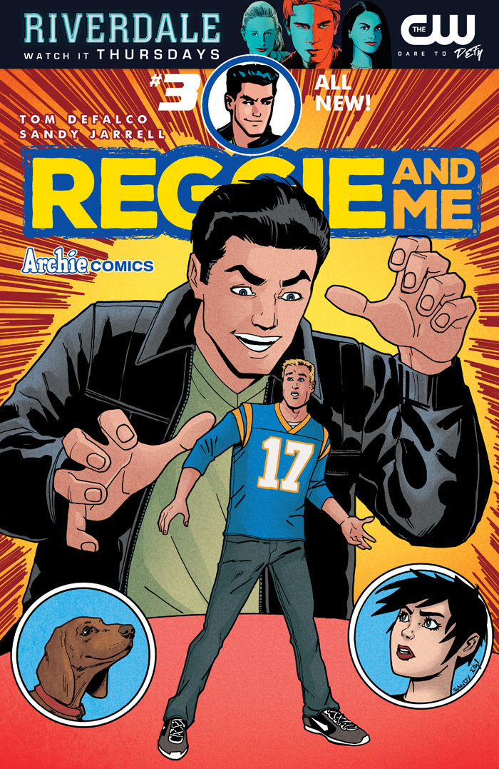 Reggie and Me #3 Cover