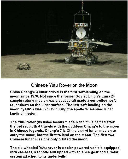 Yutu Moon Rover
