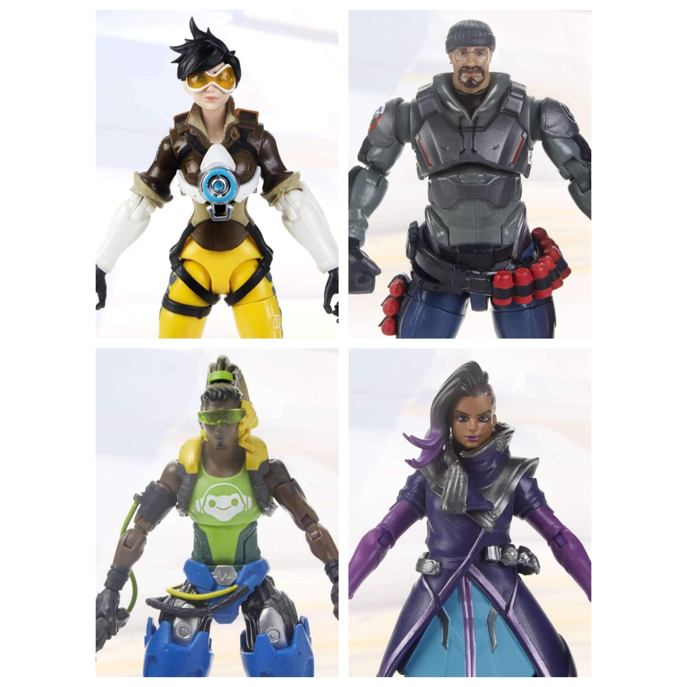 Image of Overwatch Ultimates Wave 1 Set of 4 Figures - MAY 2019