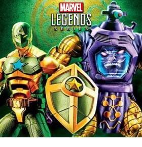 MARVEL LEGENDS HAIL HYDRA TWO-PACK