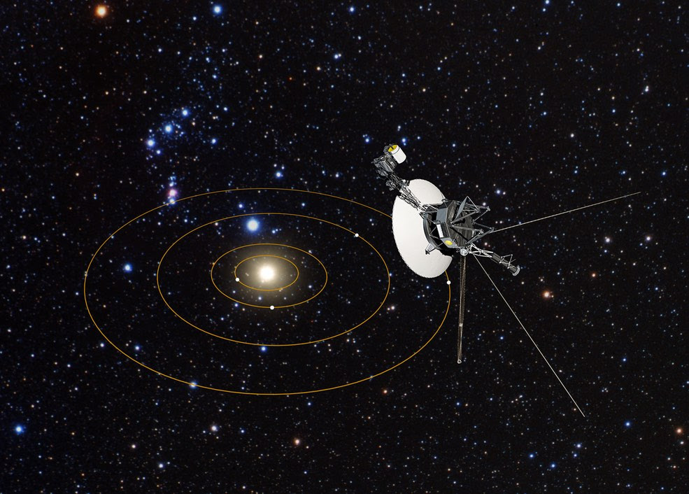 Image result for VOYAGER 1, 2 PRESENT LOCATION