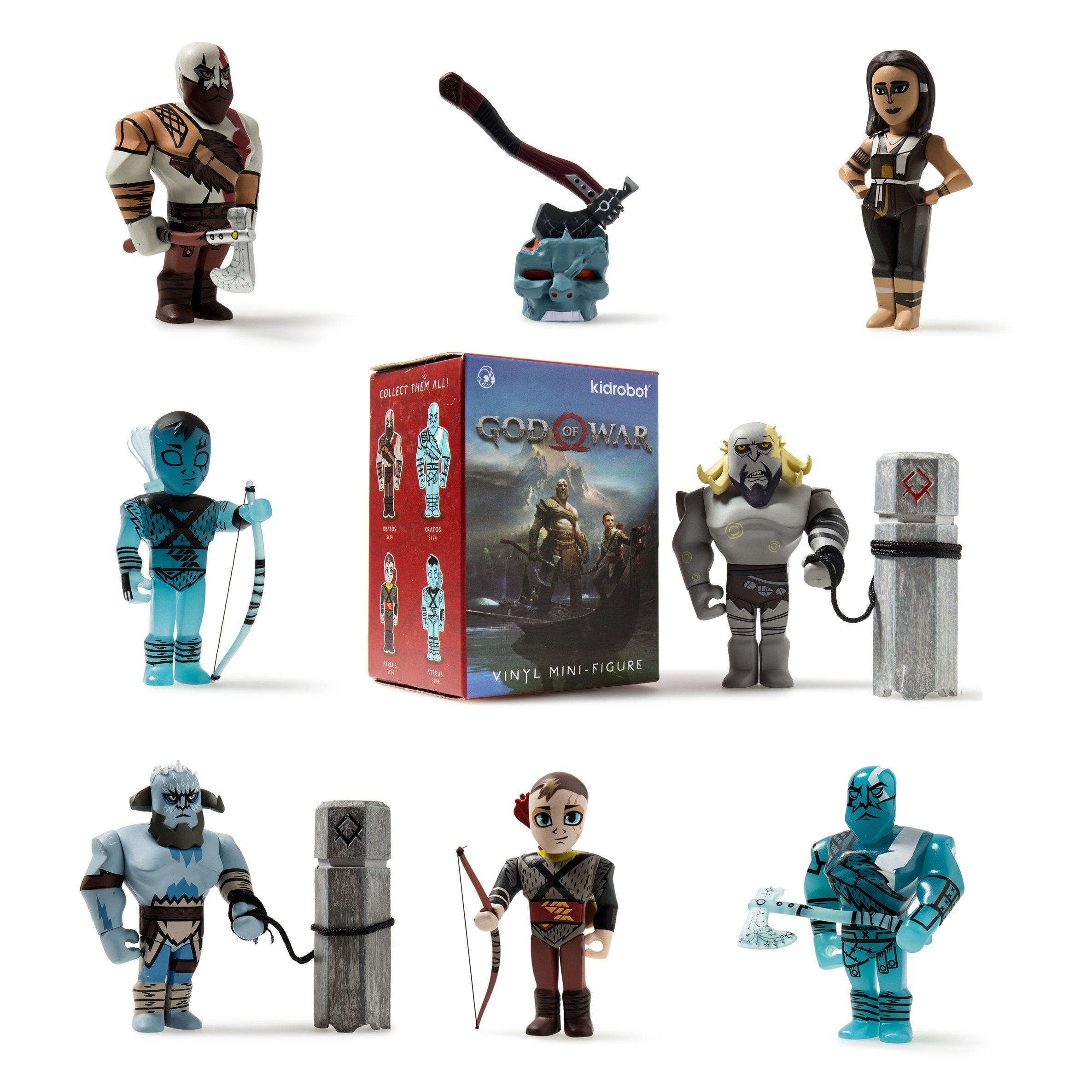 "God of War 3"" Blind Box Mini Series by Kidrobot"