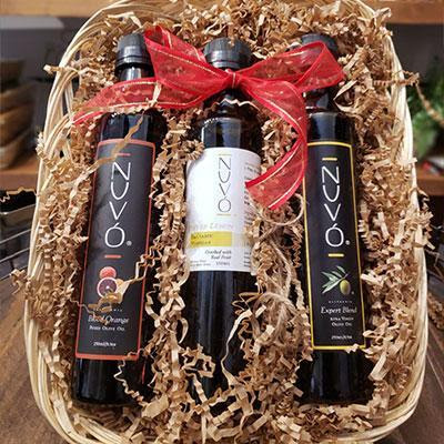 Nuvo, $64.99 @nuvooliveoil.com