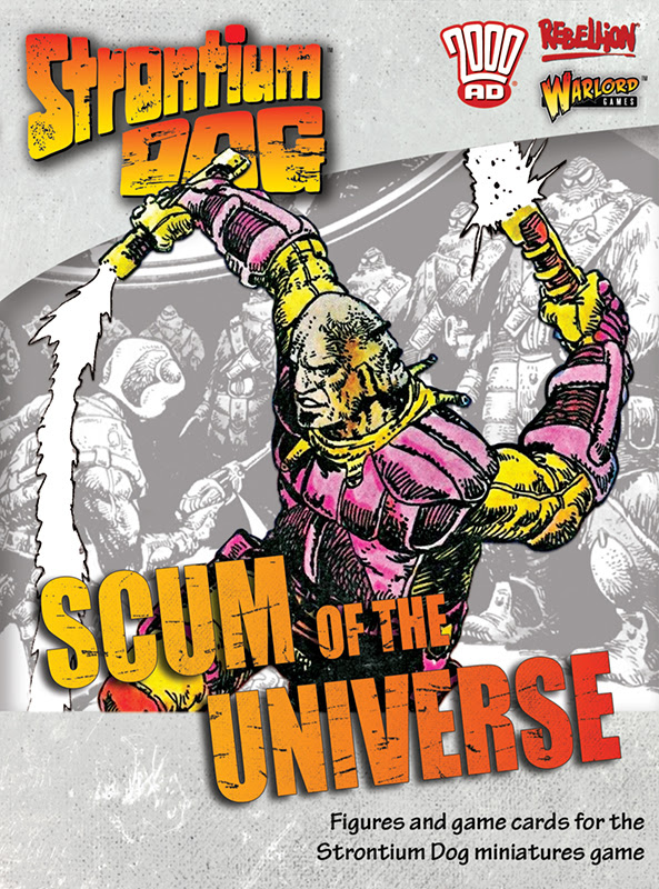 New Strontium Dog Scum of the Universe