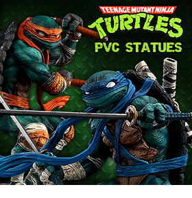 GOOD SMILE TMNT PVC STATUES