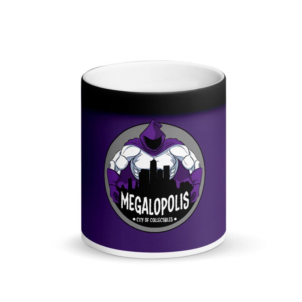 Image of Megalopolis Matte Black Magic Color-Changing Mug