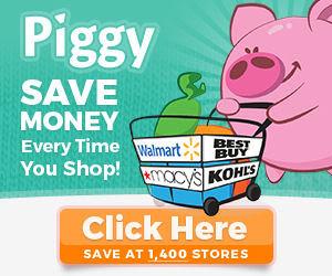 Piggy alerts you of Coupons!