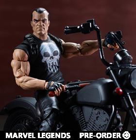Marvel Legends Punisher Figure & Vehicle