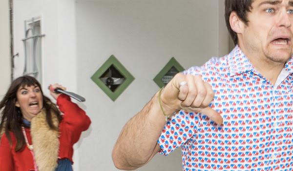 Men's Thumb-Print Shirt