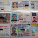 Fake ID cards that the government says were ordered by Ross Ulbricht. The government says they were found in a package addressed to the group house where he lived in San Francisco and were intercepted by Customs and Border Protection. The United States attorney's office redacted some information on the IDs.